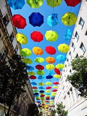 IMG_5546 (Gussyfinknottle) Tags: liverpool merseyside england britain beautiful umbrella parapluie parapluies umbrellas colour colourful color colorful vibrant bluesky