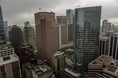 Vancouver BC - Exchange Tower (46) (doublevision_photography) Tags: vancouver vancouvercity vancouverrealestate vancouverbc vancouverskyline vancity vancouvercanada jasocrane constructioncrane vancouverconstruction roofing vancouverroofing contruction towercranephotography flyingtables tableflying