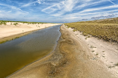 Washed By The Waves, Washed By The Sand (Alfred Grupstra) Tags: nature sand landscape blue scenics sky outdoors summer dry sanddune ruralscene nopeople water beach land travel dirt beautyinnature cloudsky