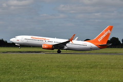 C-FEAK Boeing 737-800 Sunwing Airlines (eigjb) Tags: boeing 737800 b737 737 jet airliner transport eidw dublin airport ireland international collinstown aviation aricraft airplane plane spotting july 2017 rotation takeoff sunwing airlines canadian tui thomson cfeak