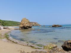 La costa a nord di Punta Penna, (Vasto), 17/06/2017