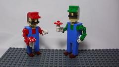 Mario & Luigi (andresignatius) Tags: lego miniland mario luigi nintendo