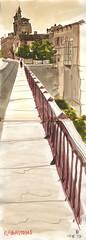 170718 Rabastens (Vincent Desplanche) Tags: sketch sketchbook croquis urbansketchers rabastens tarn occitanie aquarelle watercolor carandache neocolor seawhiteofbrighton seawhitesketchbook fabercastell polychromos