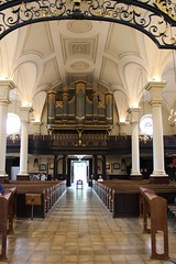 The inside of Derby Cathedral (daveandlyn1) Tags: derbycathedral pews seating table derbyshire organ iii f3556 efs1855mm 1200d eos canon cathedralofallsaints grade1listed