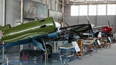 """I-16 """"Rata"""", MiG-3, La-7 (_Starbreeze_) Tags: i16 mig3 la7 russia ла7 и16 миг3 fujifilms9800"""