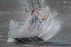 Splash down (moonshinepix) Tags: kitesurfing whitstable splashdown
