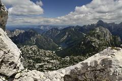 Seek happiness (matteo.buriola) Tags: friuli slovenia alpi giulie cima confine val rio del lagopanorama landscape paesaggio mountains trekking nikon d3100 hiking