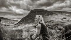 Solace in Snowdonia (Einir Wyn Leigh) Tags: landscape blackandwhite mono wales cymru ogwen uk