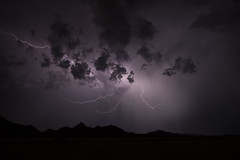 Casting shadows (No Stone Unturned Photography) Tags: lightning storm arizona desert monsoon season chase mountains strike bolts clouds weather