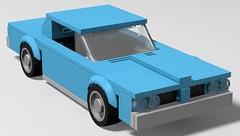 64 Pontiac GTO (GalacticGravitySurfer) Tags: 64 1964 pontiac gto musclecar delorean 389 lego