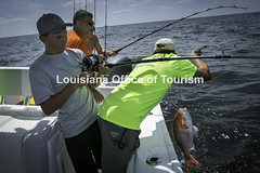 CocodrieCharterFishing (14) WM (Louisiana Tourism Photo Database) Tags: fishing gulf gulfofmexico southernunitedstates angler anglers boating catchingfish charterboat offshore oiandgasrigs outdoorsports outdoors redsnapper southlouisiana water