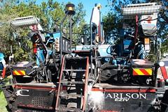 tar maker (Leonard J Matthews) Tags: machine machinery roadequipment bitumen tar carlson eziv australia mythoto