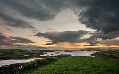 Rainy Sunset (explored 22-07-2017) (mickreynolds) Tags: comayo ireland kilmeana nx500 sunset westport wildatlanticway inishnakillew clewbay island samyang12mm panorama