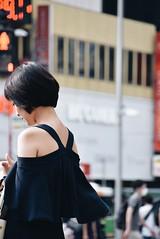 A woman with wings Shibuya (kurotango Clip) Tags: shibuya tokyo women street