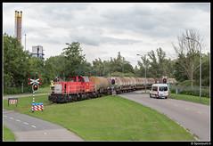 DBC 6431 - 62022 (Spoorpunt.nl) Tags: 22 juli dbc db cargo 6431 trein 62022 chemours 2017 dordrecht industrie baanhoekweg