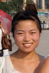 junge Chinesin (lsvexpeditionsreisen) Tags: china peking chinesin portrait hübsch jungefrau
