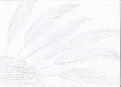 Federn vom Huhn (Jonathan Stroebel) Tags: jonathan zeichnungen bleistift brushpen gemälde kunst tiere lebewesen kind junge künstler drawings pencil painting art animals livingorganism child boy artist huhn federn chicken feathers