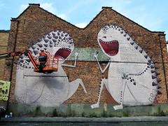 Bisser / Berouw - 17 jul 2017 (Ferdinand 'Ferre' Feys) Tags: gent ghent gand belgium belgique belgië streetart artdelarue graffitiart graffiti graff urbanart urbanarte arteurbano bisser