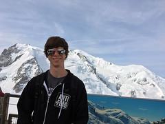 Alps Trip 1133m (mary2678) Tags: aiguille du midi chamonix europe honeymoon mont blanc mountain mountains sky cloud clouds snow dan rick steves myway way alpine tour french alps
