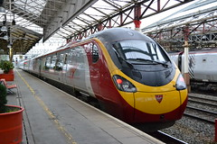 Virgin Trains Pendolino 390122 Penny the Pendolino (Will Swain) Tags: crewe station 16th may 2017 cheshire north west south county train trains rail railway railways transport travel uk britain vehicle vehicles country england english virgin pendolino 390122 penny class 390 122