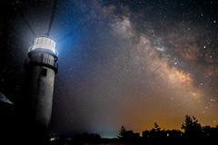 Milky Way & Highland Light, Cape Cod MA (Vic Zigmont) Tags: highlandlight capecod milkyway stars lighthouse longexposure nightsky massachusetts