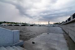 Ushakovskiy bridge St. Peterburg (Mihashi_SPb) Tags: bolshayanevka peterburg petersburg saint sankt ushakovskii ushakovsky bridge river