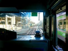 Driver's view 運転手の見解 (Shutter Chimp: Im back!) Tags: japan tokyo train rail railway way yamanote line sen track station window 日本 東京 駅 山手 山手線 線 鉄道 jr ホーム 電車 窓 driver view 運転手