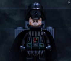 Rise Lord Vader (jezbags) Tags: lego legos legostarwars starwars toys toy minifigure minifigures macro macrophotography macrolego macrodreams canon60d canon 60d 100mm closeup upclose darthvader darth vader transformation helmet darkside smoke