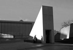 rechazar la identidad (San Guine) Tags: brutal beton black white berlin kulturforum germany shadows building