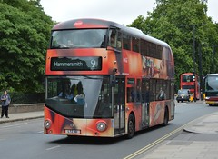 LT161 - RTP - 9 Hammersmith (TU) (Gellico) Tags: lt161 ratp london route 9 hammersmith coke cola all over advert