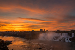 2017.07.20. Niagara Falls (Péter Cseke) Tags: sunrise niagara nikon nature sky clouds colors amazing beautiful scenery scenic outdoors river water waterfall cascade waterscape ontario canada travel summer holiday morning early d750 landscape
