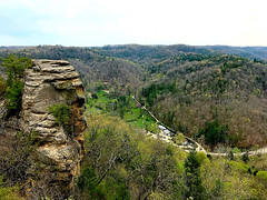 looking down (#KPbIM) Tags: 2017 nature travel april river trip kentucky gorge adventure red vacation spring hiking