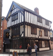 [52586] Coventry : Golden Cross Inn (Budby) Tags: coventry westmidlands timbered pub publichouse