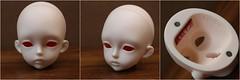 Luts 2015 Summer Event Head (AluminumDryad) Tags: luts kiddelf bjd balljointeddoll msd doll resin head