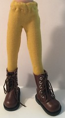 Spicy Mustard Tights...For Blythe...