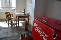 Alcatraz Office (salinachann) Tags: alcatraz prison room cocacola