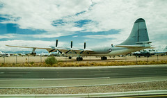 Tuscon Air Force Boneyard (1 of 25) (macfanmd) Tags: yellow arizona aircraft boneyard airforce davismonthanafb afb vintageaircraft desert history historic military
