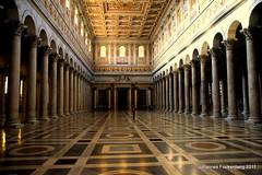 San Paolo fuori le Mura (grafenhans) Tags: sony alpha a55 alpha55 ilce tamron 281750 basilika paulus rom roma rome kirche italien italia licht light