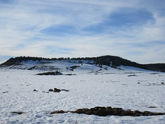 Snow fields and hill, Middle Atlas near Azrou, Morocco (Paul McClure DC) Tags: middleatlas morocco jan2017 almaghrib ifrane azrou mountains winter scenery snow northafrica