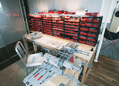 Lego storage system for 2017 (drakmin) Tags: lego eurobricks starwars xwing incom t65 toy legophoto jedi moc star wars wip project design engineering tayg storage emeco