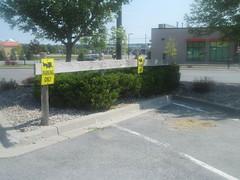 Horse & Buggy Parking (at Walmart) (Random Retail) Tags: fortdrum ny 2016 store walmart retail parking