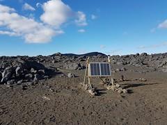 Iceland 6TD installation (Güralp) Tags: volcano monitoring lava flow guralp 6td seismic research
