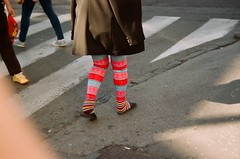 0o (dvolic) Tags: socks street analog film lomography fujifilm color