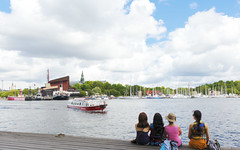 Stockholm (yuanxizhou) Tags: experience explore wonderful awesome view tourist landscape architecture boat clouds water city sweden stockholm europe travelphotography travel