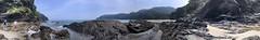Hidden beach (Sam-in-Japan) Tags: coastline coast waves secluded pacific beach ocean