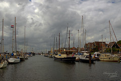 The haven in Urk (Dorota.S - !) Tags: urk haven netherlands flevoland dorotas