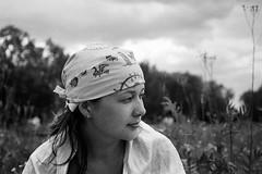 Free Kate (VelannaRay) Tags: bw blackandwhite beauty black film filmphoto free outdoor countryside mood monochrome girl portrait people summertime nature evening пленка портрет природа тайболафестиваль девушка чб чернобелое вечер настроение