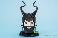 tkm-Witches-Maleficent-WickedWitchOfTheWest-1 (tankm) Tags: moc lego brickheadz witches maleficent wizrdofoz wickedwithofthewest