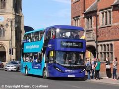 Shine bright like a  d̶i̶a̶m̶o̶n̶d̶  Sapphire (2) (Cymru Coastliner) Tags: arrivabuseswales adlenviro400city 1000 cx17bya bus chester sapphire cheshire