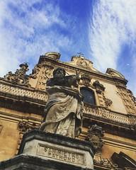 San Pietro in Modica (martina.strac) Tags: wanderer travelling travel saint sky sanpietro barocco sicily city sicilia modica